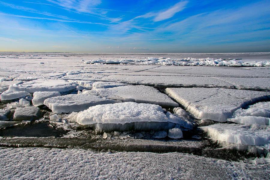 Kruiend ijs - Hindeloopen