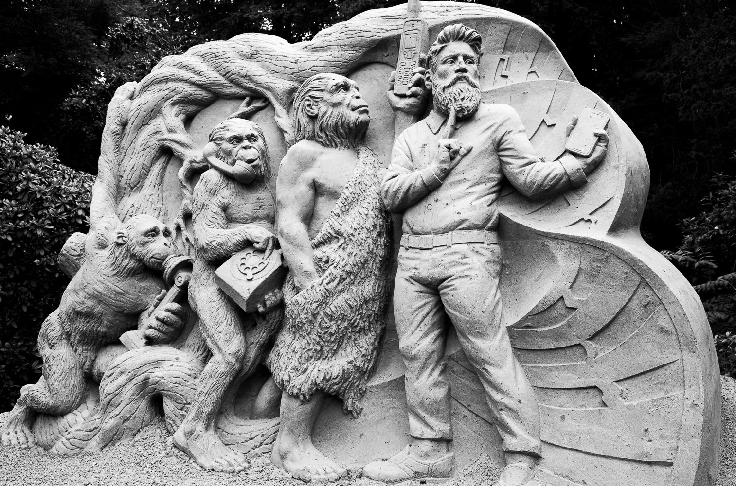 Zandsculptuur, Kasteel Warmelo te Diepenheim